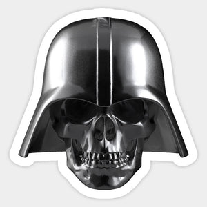Copy of Star Wars Vaders Skull Helmet Color Vinyl Decal