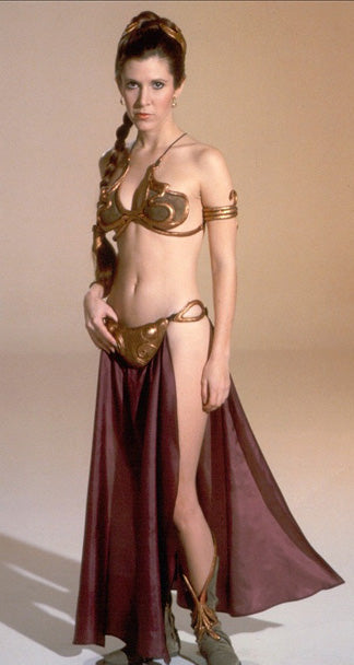 Star Wars Princess Leia Bikini Color Vinyl Decal Color Vinyl Decal