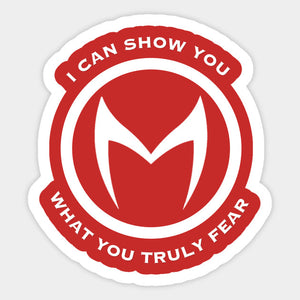 Wanda Vision - Scarlet Witch 'What You Fear' Color Decal/Sticker