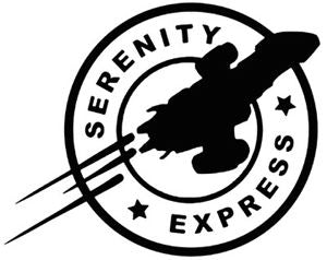 Serenity Express Vinyl Decal Sticker