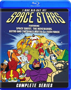 SPACE STARS THE COMPLETE SERIES BLU RAY!