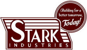 Stark Industries Vintage Logo Color Vinyl Decal