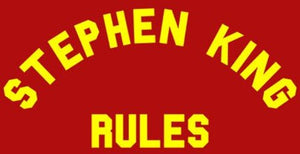 """Stephen King Rules"" Color Vinyl Decal"