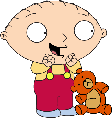 Family Guy Stewie Vinyl Decal/Sticker