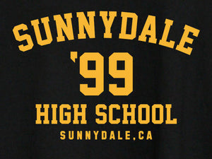 Sunnydale High School Color Vinyl Decal