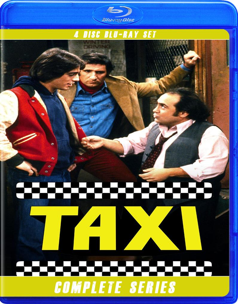 TAXI THE COMPLETE SERIES BLU RAY!!