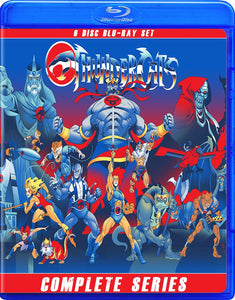 THUNDERCATS THE COMPLETE 1980S SERIES BLU RAY!!