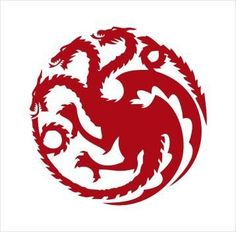 House Targaryen Game of Thrones Vinyl Decal Sticker