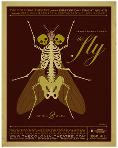 Brundle Fly 'Movie Poster 2' Post-A-Cal™