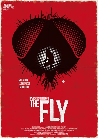 Brundle Fly 'Movie Poster 3' Post-A-Cal™