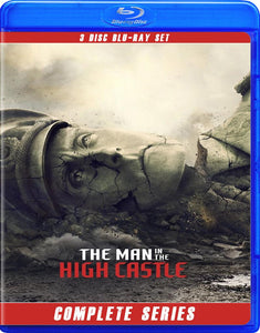 THE MAN IN THE HIGH CASTLE THE COMPLETE SERIES ALL 4 SEASONS BLU RAY!!