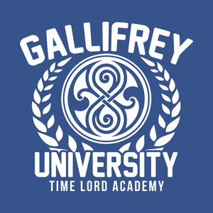 "Dr Who ""Gallifrey University"" Color Vinyl Decal"