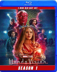 WANDA VISION THE COMPLETE SERIES!! BLU RAY!!
