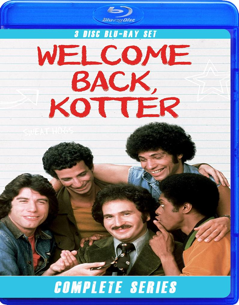 WELCOME BACK KOTTER THE COMPLETE SERIES BLU RAY!!