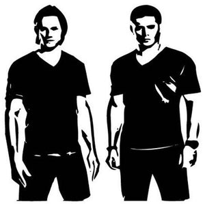 Supernatural Winchester Brothers Vinyl Decal/Sticker