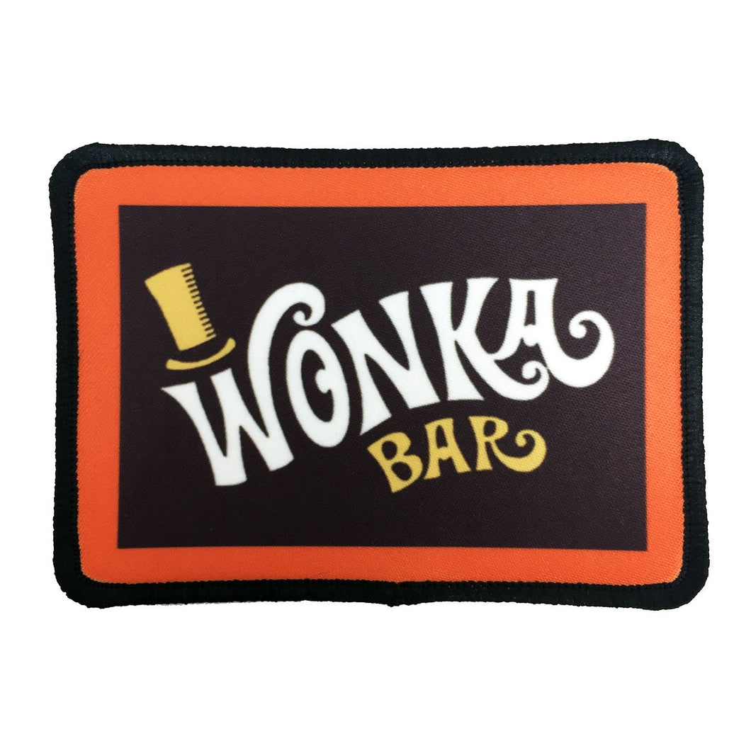 Willy Wonka Bar Color Vinyl Decal