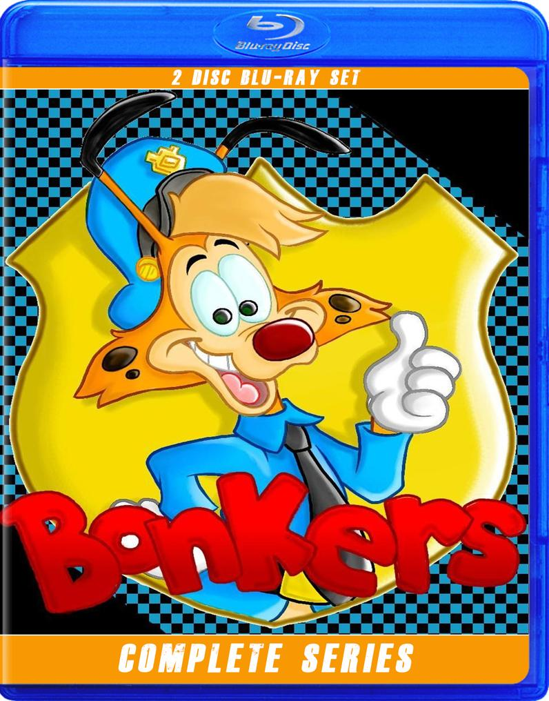 BONKERS THE COMPLETE SERIES BLU RAY!