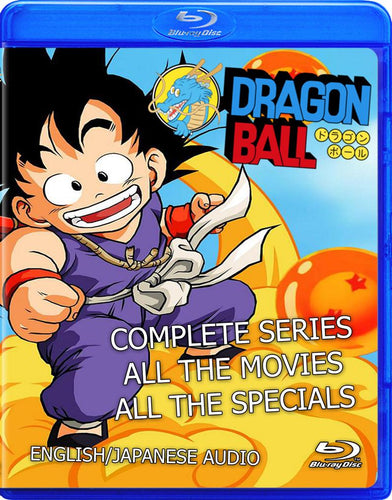 Dragon Ball Complete Collection on Blu-ray!