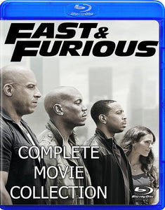 Fast and Furious Complete Collection on Blu-ray