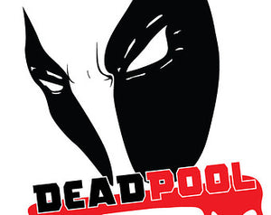 Deadpool Logo Vinyl Decal/Sticker
