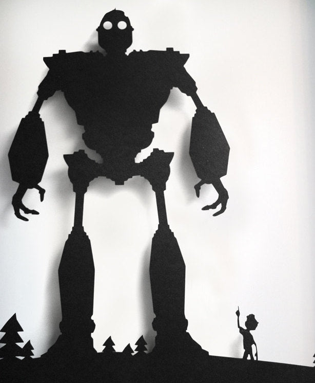 Iron Giant and Horgath Vinyl Decal/Sticker