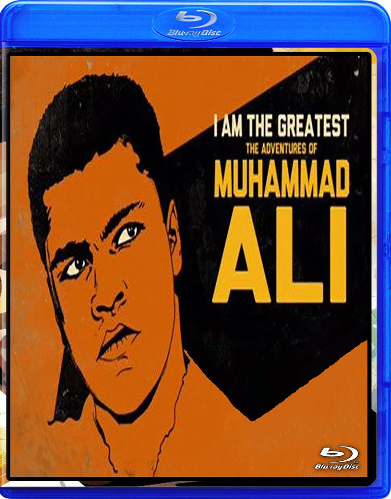 MUHAMMED ALI COMPLETE ANIMATED SERIES I AM THE GREATEST, COMPLETE BLU RAY!!