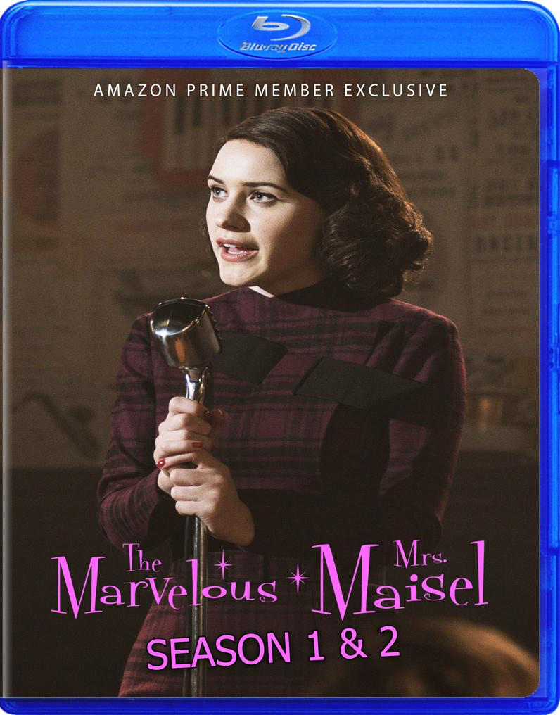 The Marvelous Mrs. Maisel Seasons 1 & 2 in Blu-Ray!