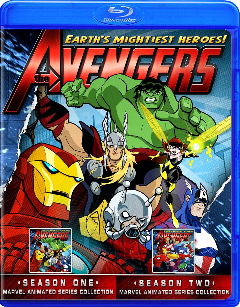 Avengers Earth's Mightiest Heroes the complete series blu ray!!