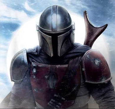 Mandalorian Blue Sky Decal Sticker