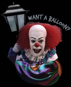 "IT:  Pennywise ""Want a Baloon?"" Color Vinyl Decal"
