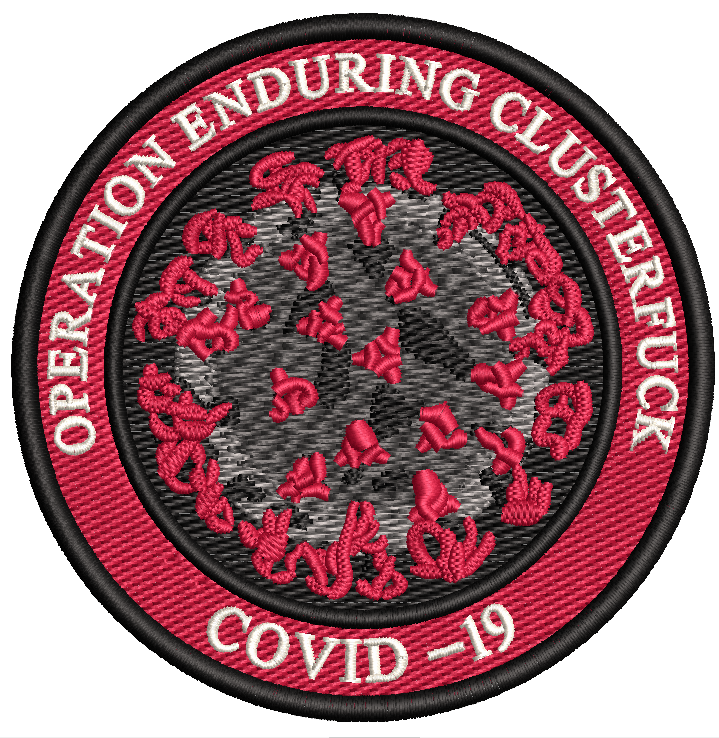 Operation Enduring Clusterf*ck COVID-19 Color Vinyl Decal/Sticker