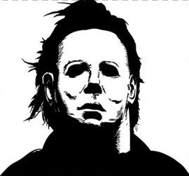 Halloween Michael Myers Vinyl Decal Sticker