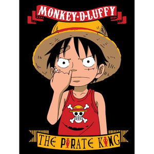 Monkey D Luffy Color Vinyl Decal
