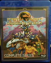 Mortal Kombat Defenders of the Realm Complete Series on Blu-Ray!!