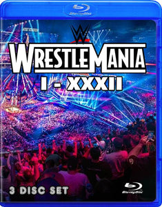 WrestleMania I-XXXII in Blu-Ray™