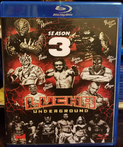Lucha Underground Season 3 on Blu-Ray!