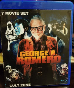 George A Romero's Cult Zone on Blu-Ray™