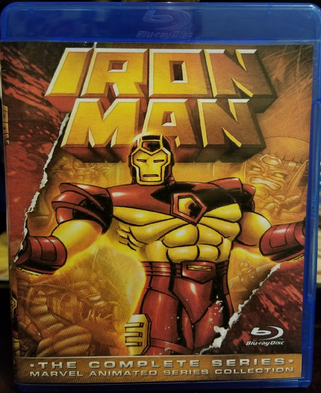 Iron Man Complete Series on Blu-Ray™