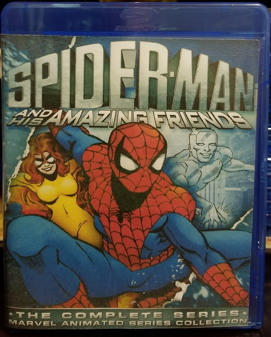 Spiderman and his Amazing Friends on Blu-Ray™