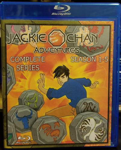 Jackie Chan Adventures Complete Series on Blu-Ray!!