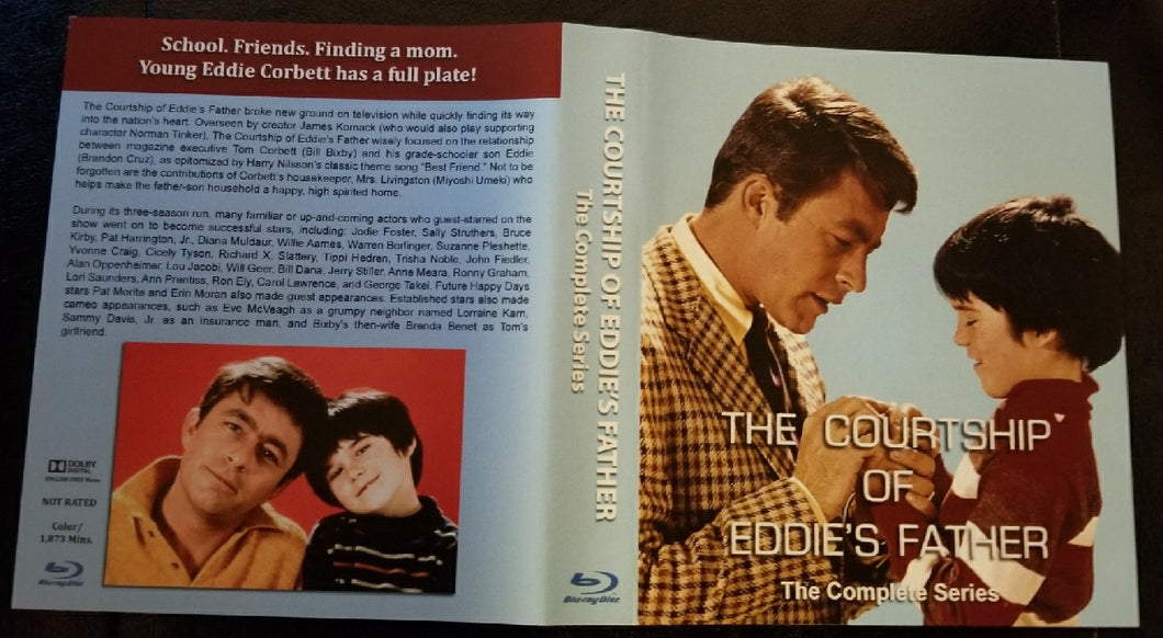 Courtship of Eddie's Father Complete Series Blu Ray™