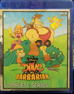 Disney's Dave the Barabrian:  The Complete Series on Blu-Ray™