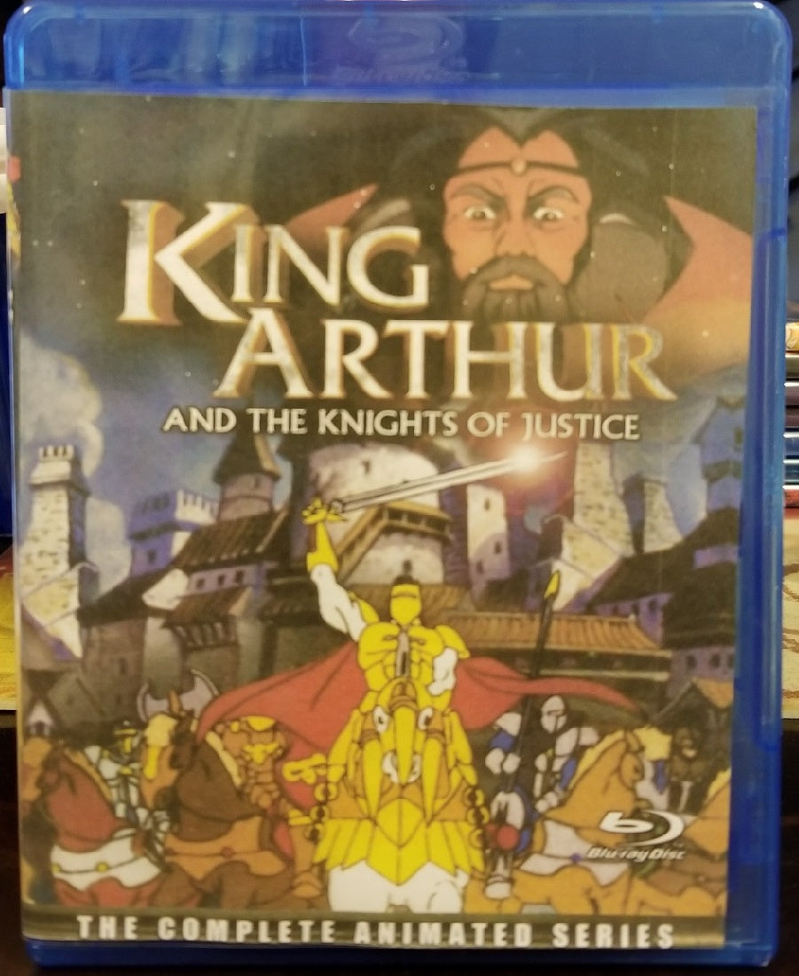 King Arthur and the Knights of Justice:  The Complete Series on Blu-Ray™