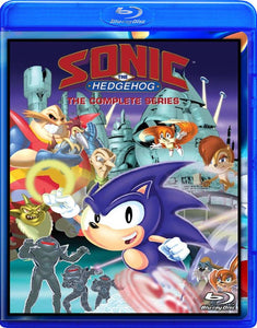 Sonic the Hedgehog Blu-Ray