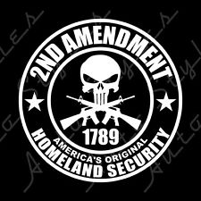 2nd Amendment Vinyl Decal/Sticker