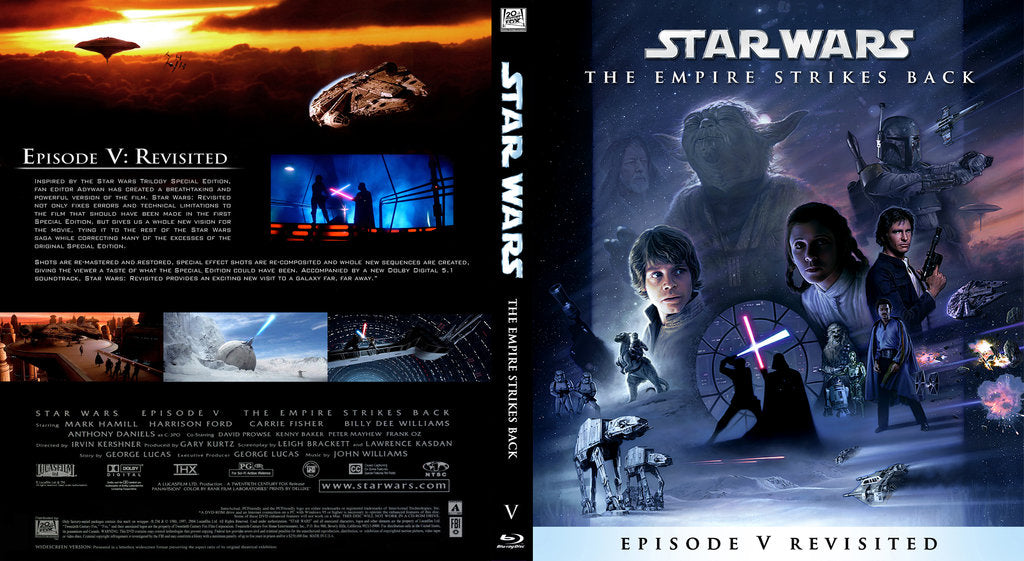 Star Wars The Empire Strikes Back Revisited In Blu Ray Collector S Heaven