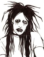 Twiggy Ramirez Marilyn Manson Vinyl Decal Sticker