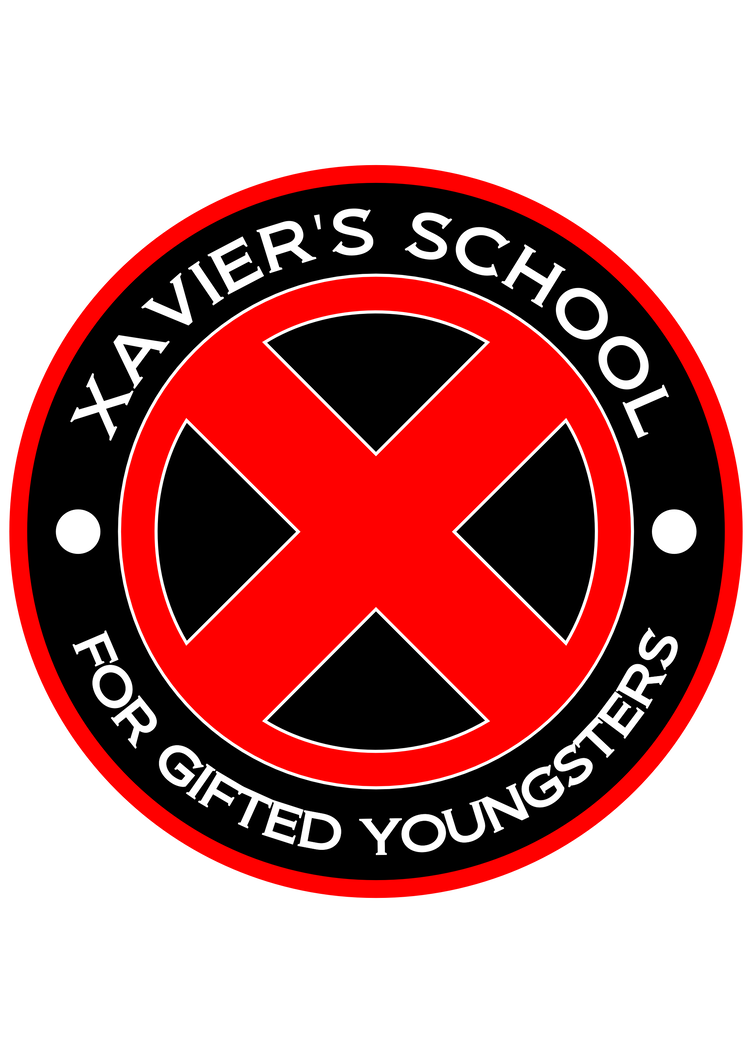 X-Men Xavier School Vinyl Decal