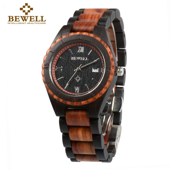 BEWELL Handmade Wood Watch - HyperbrainStudios.com