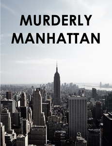 Murder Mystery Party Kit New York City